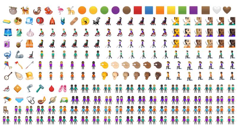 세계 이모지의 날 기념 이모티콘…구글 & 애플 다양성 강조한 새로운 이모티콘 공개
