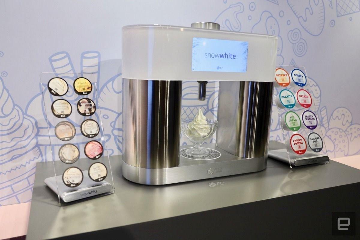 LG전자 가정용 아이스크림 제조기