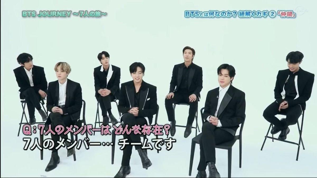 2020 7월5일 방탄소년단 일본 인터뷰