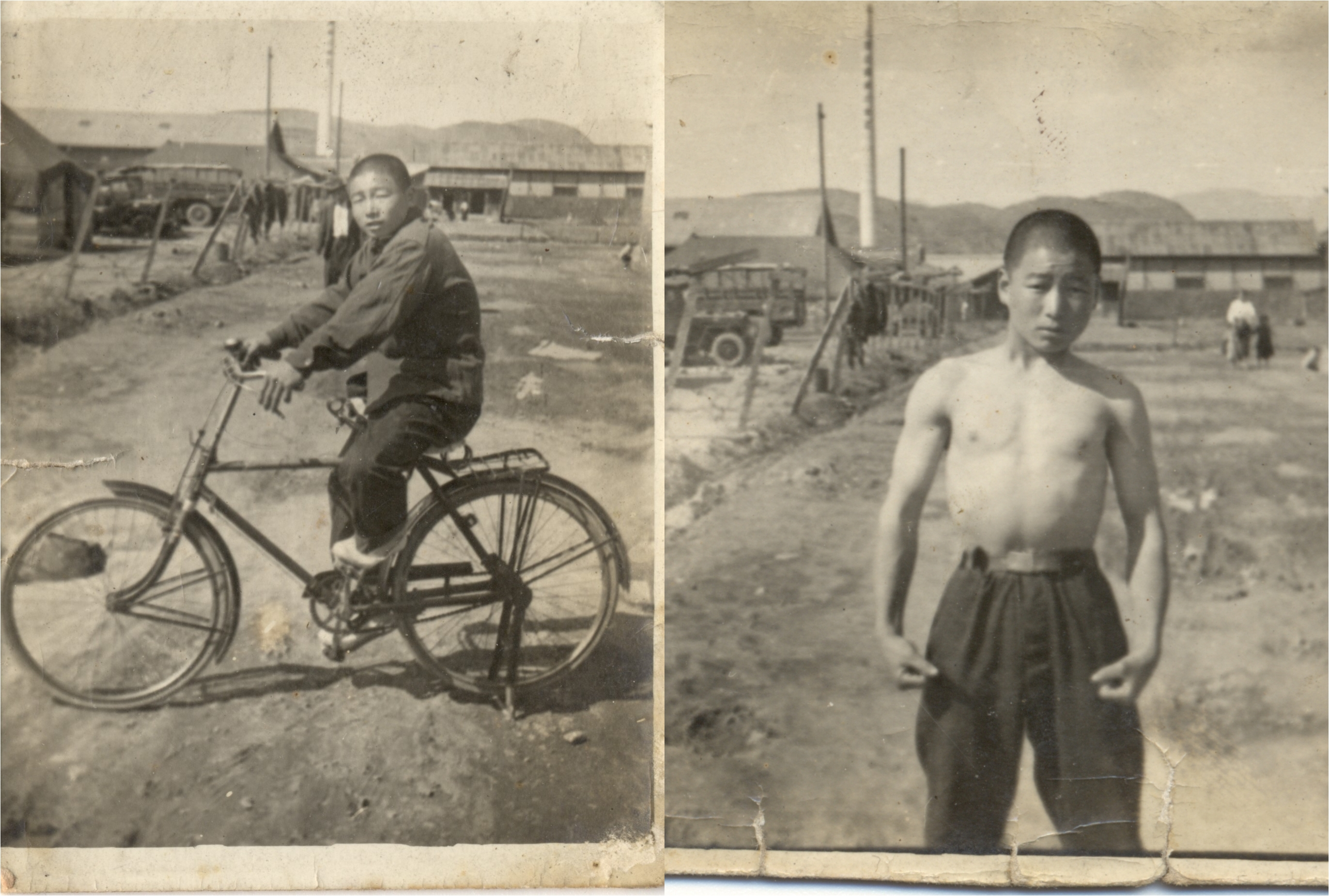 자동차보다 자전거를 즐겨 탔던 아버지