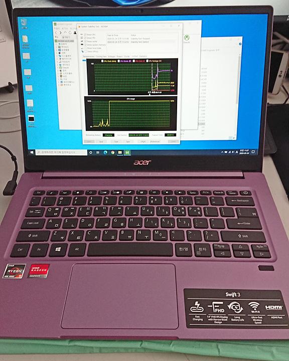 라이젠 4500U 노트북 Acer Swift SF314-42
