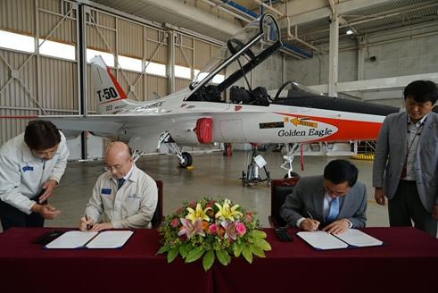 한국항공우주산업(KAI), 'T-50'과 'KC-100' 국립항공박물관 기증 결정