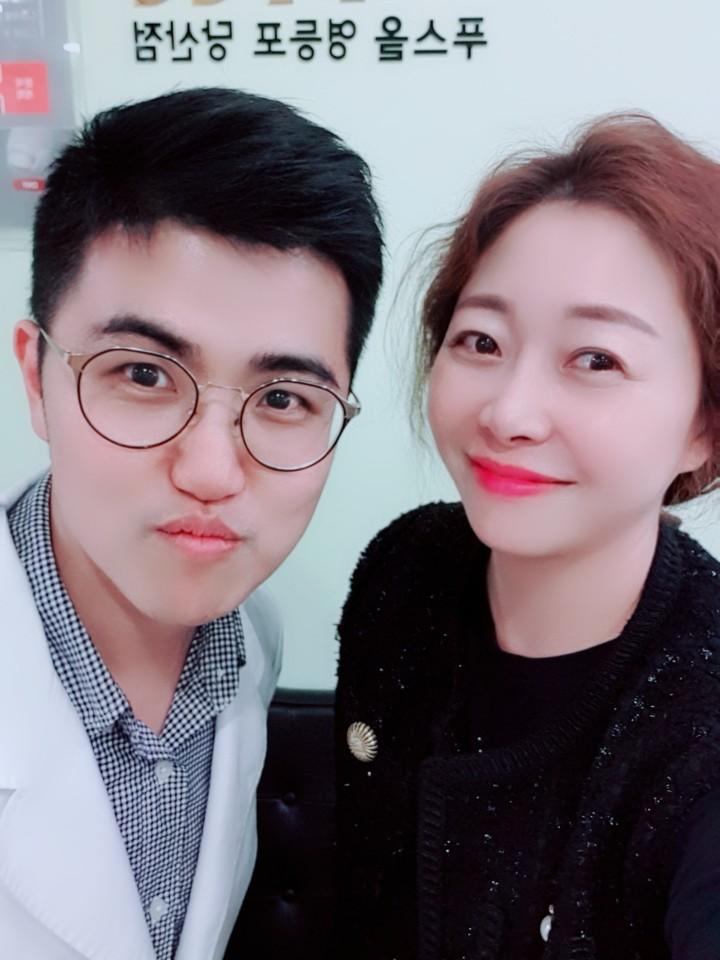 하나뿐인 내편 미스조  황효은 배우님이 푸스올에 다녀가셨어요^^
