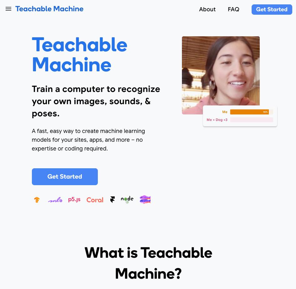누구나 활용하는 웹기반 머신 러닝 툴…구글, 티처블 머신 2.0 공개