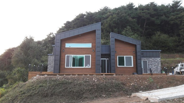 자연과 더불어 살수 있는 전원주택