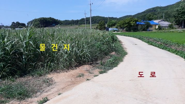 5~6가구 모여사는 한적한 마을, 접근성 좋은 전원주택용 토지