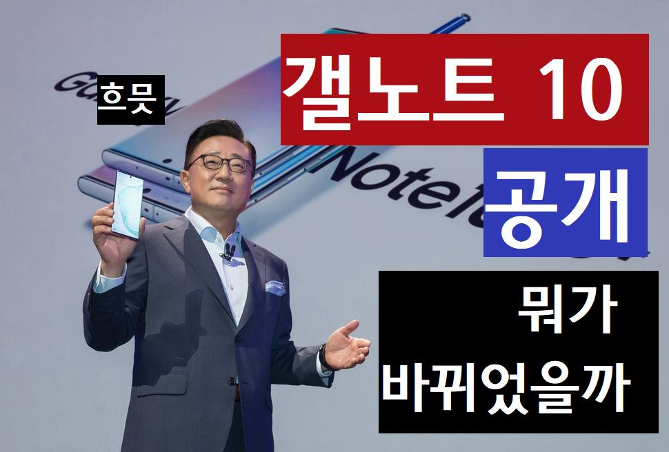 [스크랩IT] 삼성전자, '갤럭시 노트10' 공개