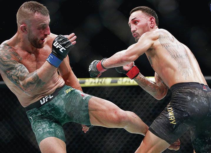 UFC251 알렉산더 볼카노프스키 VS 맥스 할로웨이 스탯 분석