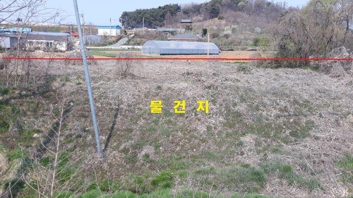 4차선도로변에 주택신축이나 농산물창고용으로 적합한 토지