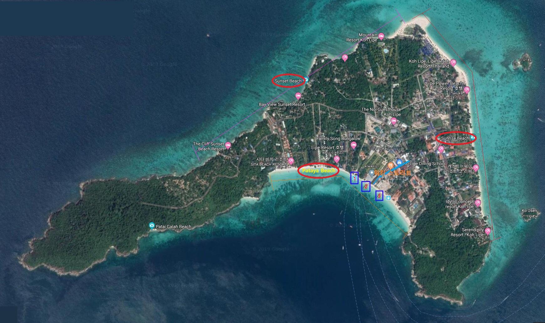 [다섯번째 나홀로 여행 11탄] 꼬리뻬(Koh Lipe) 집중탐구 <전편>
