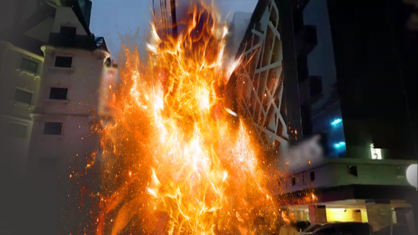 영등포 모텔 건물 화재 100여명 대피…27명 병원 이송