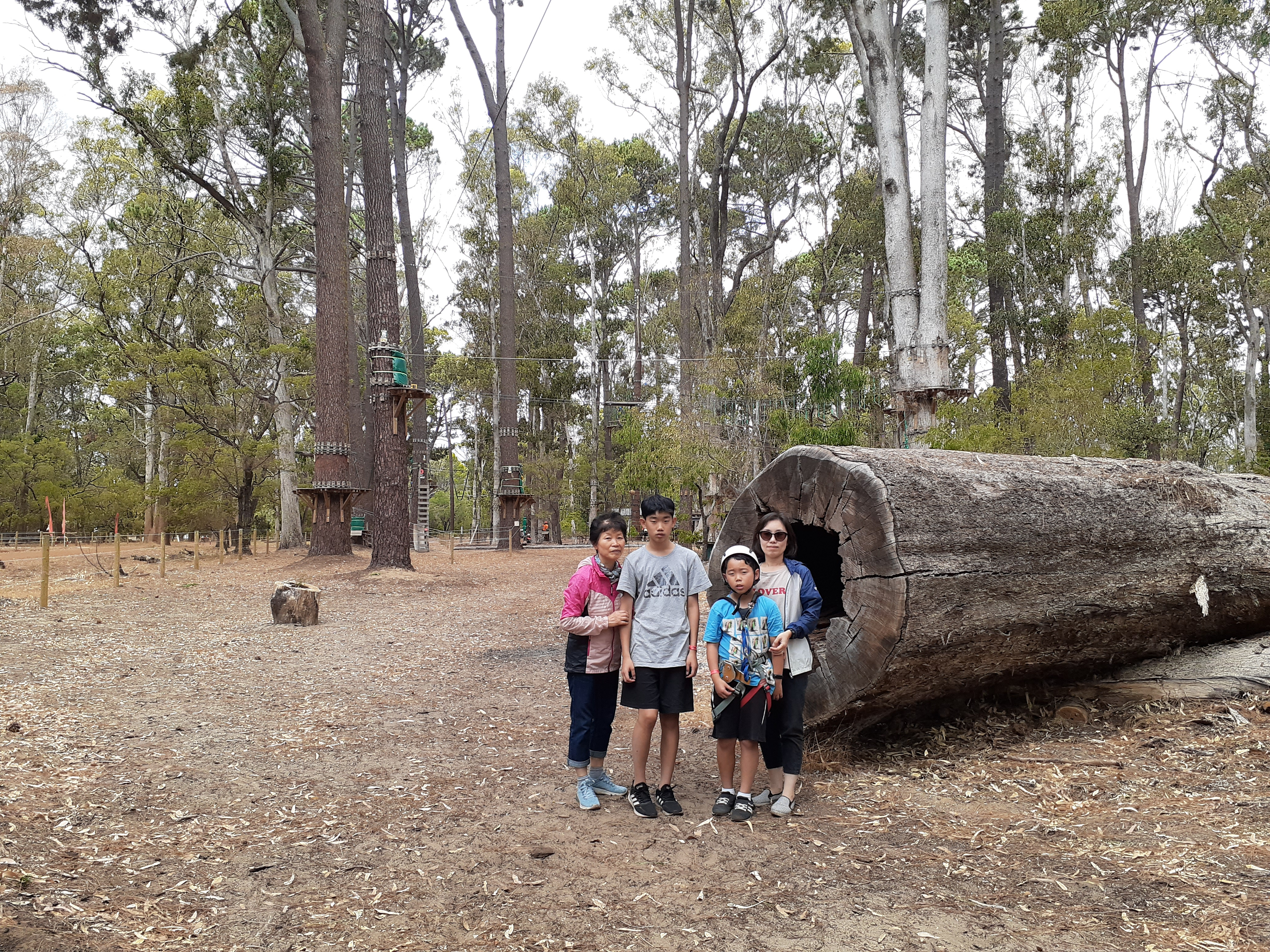 2020.01.31 Busselton camping Forest Adventure