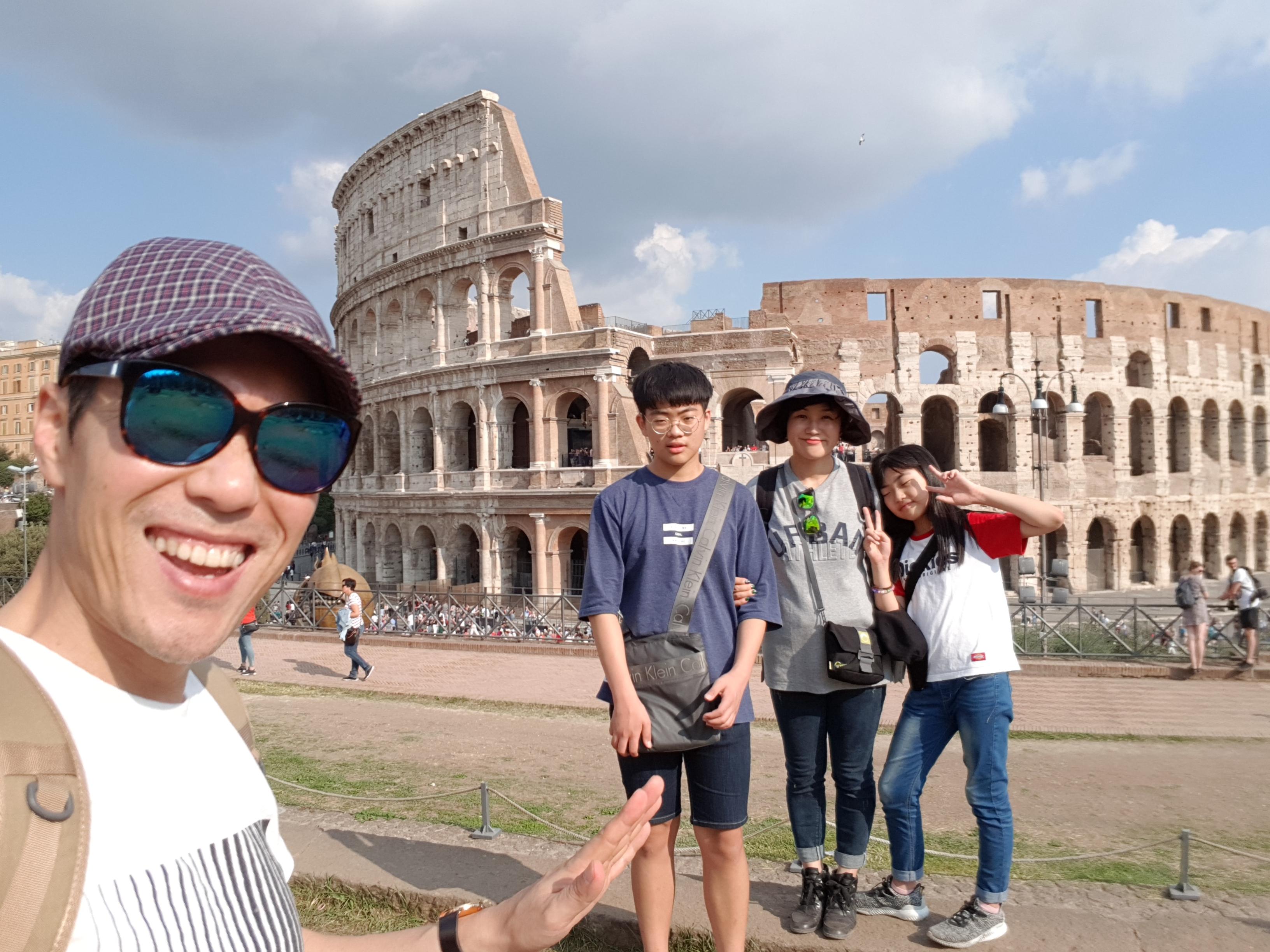 세계사의 중심도시, 모든 길은 로마로 통한다