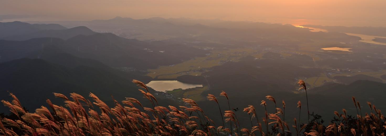 은빛 억새·황금 들녘·서해 낙조가 어우러진 충남 보령 오서산 가을 여행