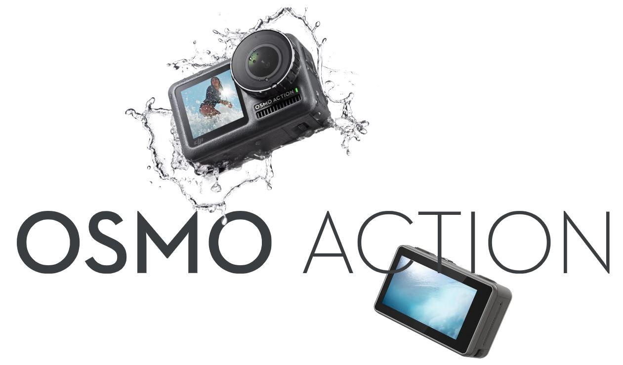 DJI 오즈모 액션(Action) 출시, 미리 살펴 본 첫인상