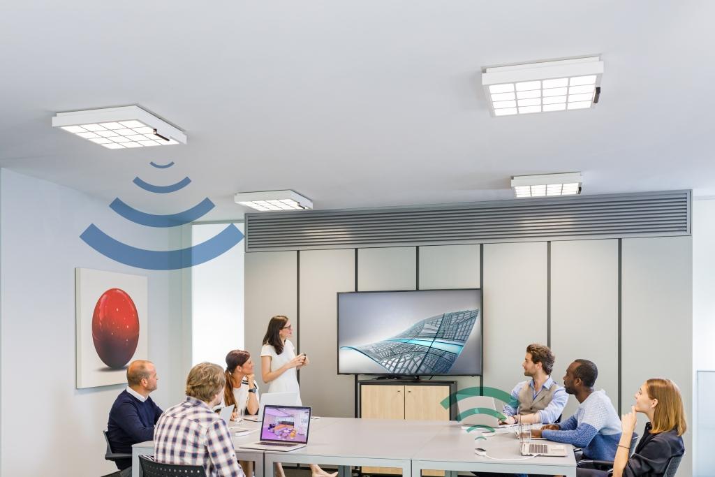 전등 빛으로 최대 150Mbps 데이터 전송...시그니파이, 트루리파이 Li-Fi 시스템 발표