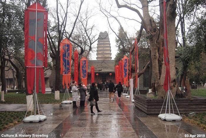 중국 시안 천복사와 소안탑