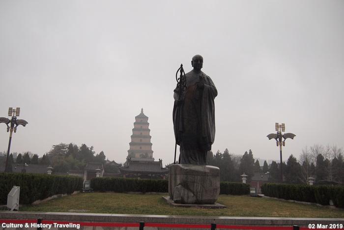 중국 시안 대자은사와 대안탑, 당나라 수도 장안을 대표하는 큰 사찰