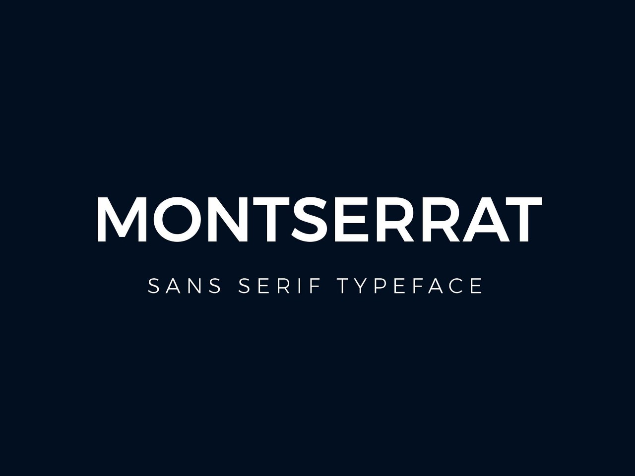 Montserrat 다운로드