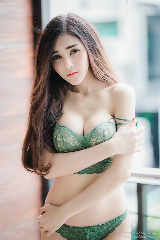 cool mood Asian girl