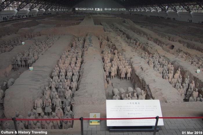중국 시안 진시황릉 병마용박물관