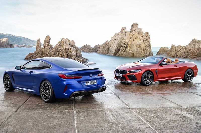[BP/AUTO]  BMW 625HP / 750Nm V8 터보 엔진을 탑재한 'M8 쿠페', 'M8 컨버터블'