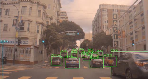 자율주행에서 2D 이미지로 3D 거리 예측...엔비디아, DNN 활용 거리예측 연구 공개