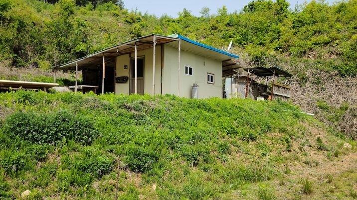 200평 토지에 농막이 설치되어 있는곳