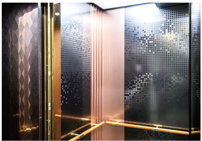 엘리베이터 외관에 빛과 디자인을 입히다! ㈜제일티스틸