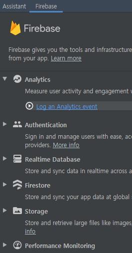 Log and Analytics event