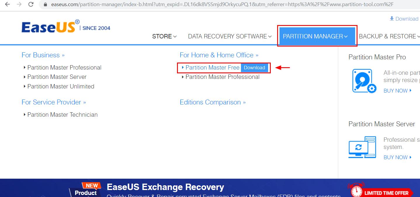 [파티션관리] EaseUS Partition Master FREE v.13.5 / SSD 파티션 나누기, 파티션 합치기, 파티션 조정