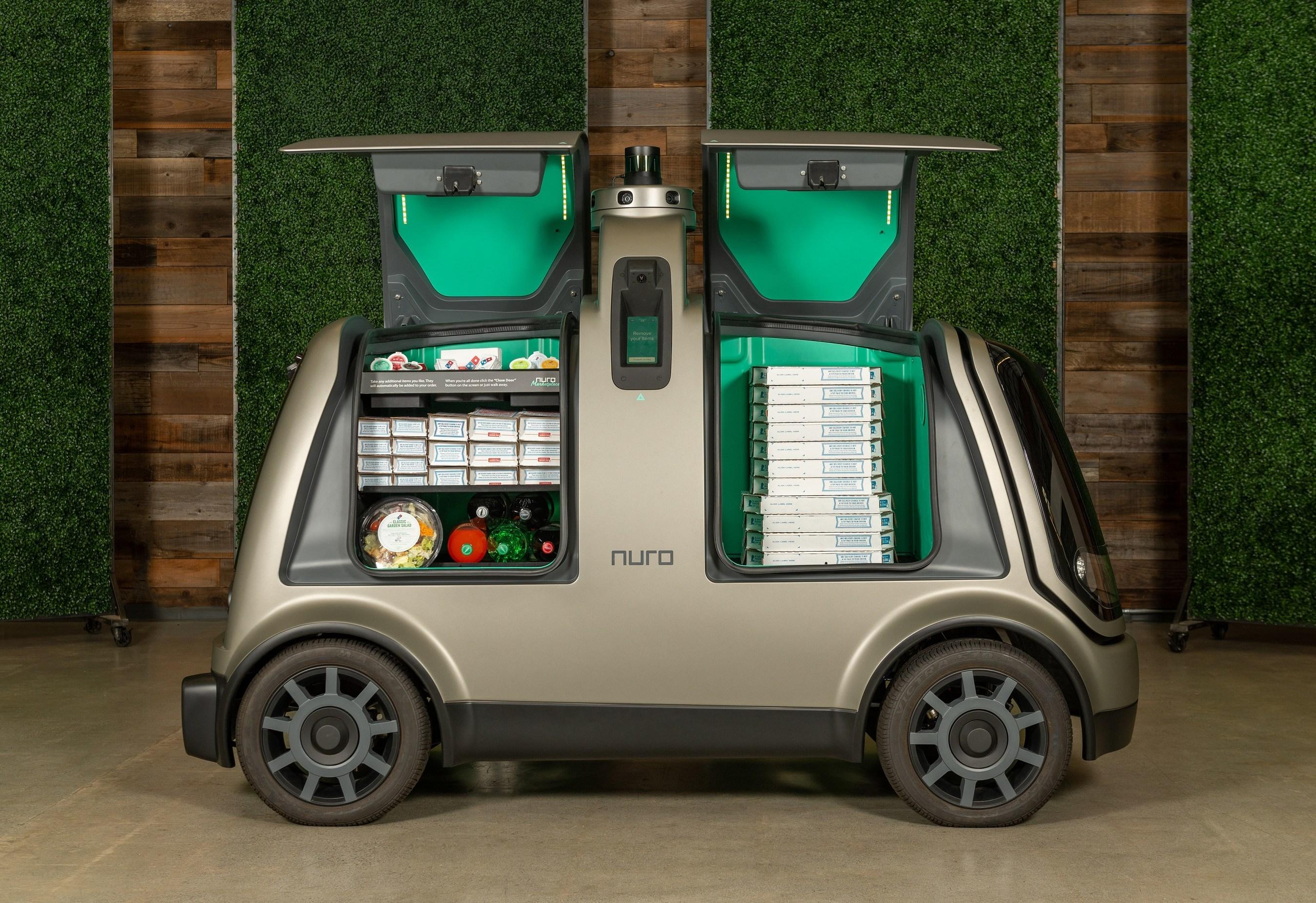 피자 배달까지 무인 자동차가..도미노피자, 누로 R2 활용한 파일럿 프로젝트 공개