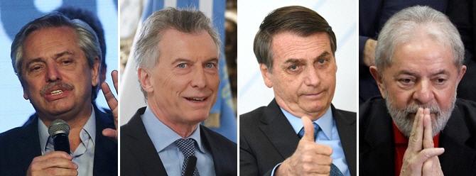 남미 앙숙 아르헨-브라질의 '대선 싸움'...핵심에는 좌파 상징 룰라