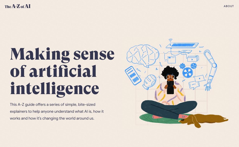 알파벳 26자에 담아낸 AI 이야기…구글, OII와 협력해 초보자용 'AI 가이드' 제작