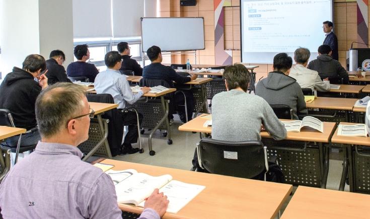 한국승강기안전공단 승강기인재개발원: 국가인적자원개발 컨소시엄사업 교육 현장