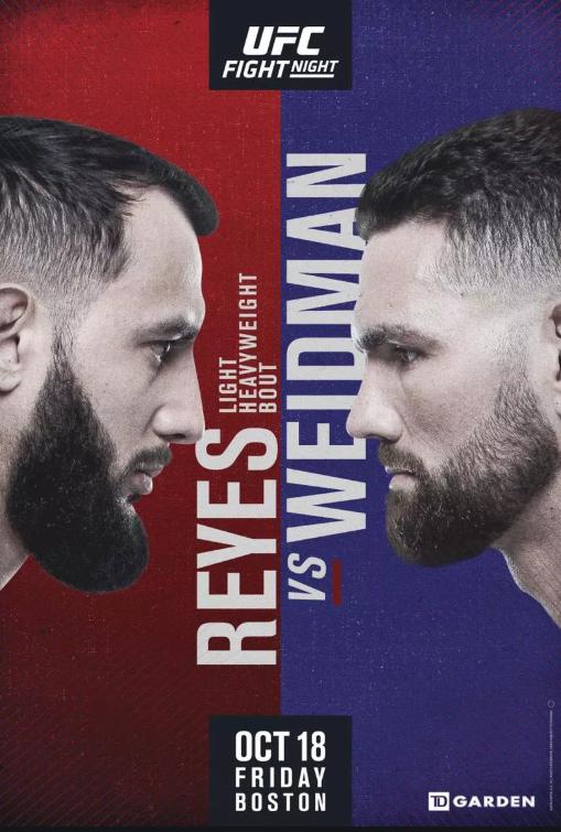 UFC 보스턴 와이드먼 VS 레예스 프릴림카드 감상 후기 - 브랜든 앨런 딱 내 스타일이야.