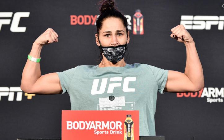 [UFC 인터뷰 소식] 제시카 아이  : 사이즈는 승부에 큰 영향을 줄거야.
