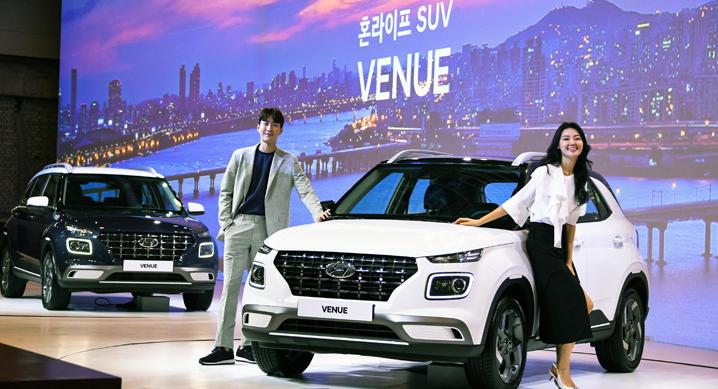 밀레니얼 세대의 혼라이프, SUV '베뉴(VENUE)' 출시
