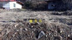 봉수산 바로 밑에 있는 전원주택용 토지