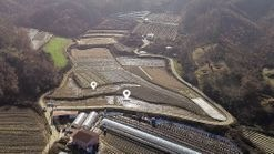 마을과 떨어져 조용한 환경과 저렴한 금액의 관리지역 토지