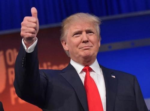 역사에 남을 위대한 지도자 도널드 트럼프