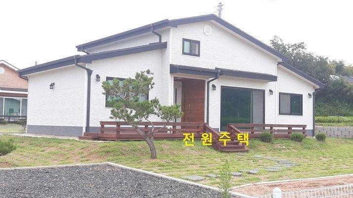 홍성시내와 가까운 곳, 귀촌용 목조 신축 전원주택