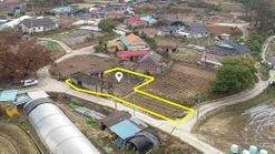 마을내 위치한 저렴한 금액과 작은 평수의  계획관리지역 토지