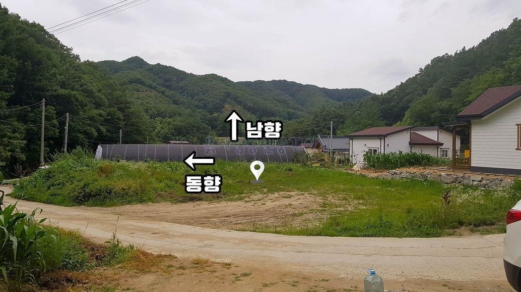외지인이 모여사는 마을내 자리한 아담한 평수의 주택지