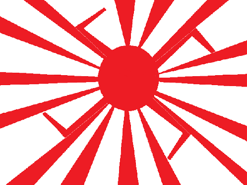 japan 2020 olympic, permited 旭日旗, きょくじつき , The Rising Sun Flag